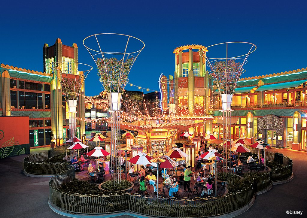 Restaurants And Entertainment At Downtown Disney District Include