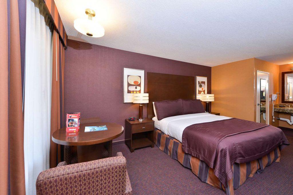 Disneyland Hotel Bedroom