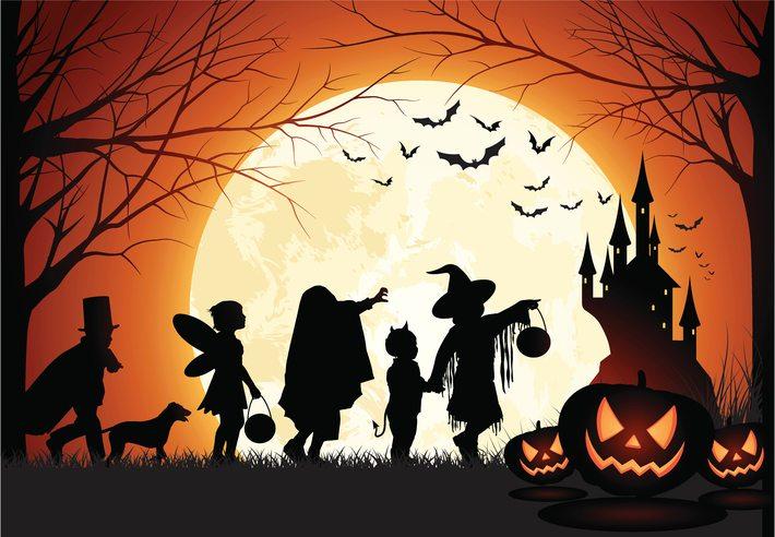 Disneyland Hotel Halloween