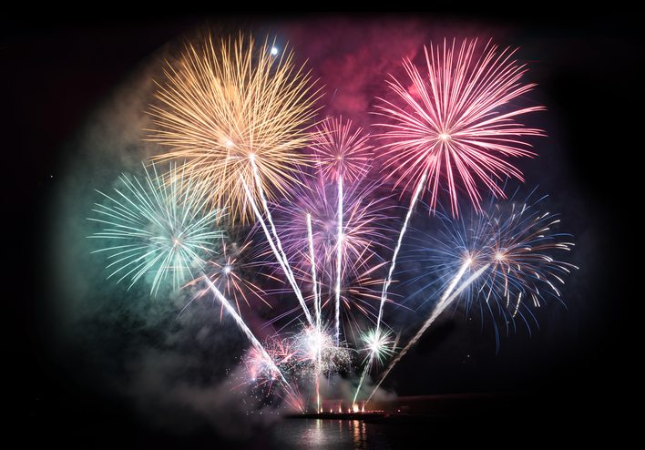 Disneyland Hotel Fireworks